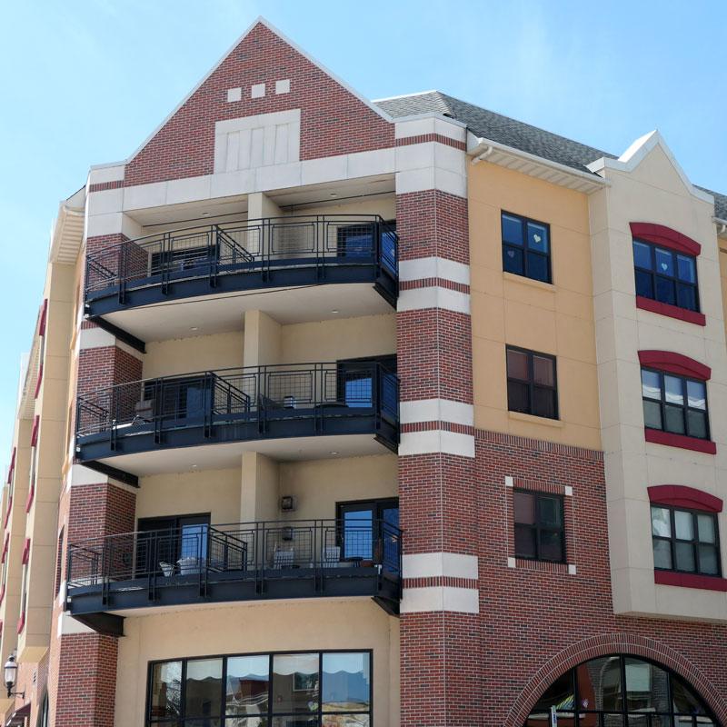 Xtek Restore Stucco Apartment Complex Project